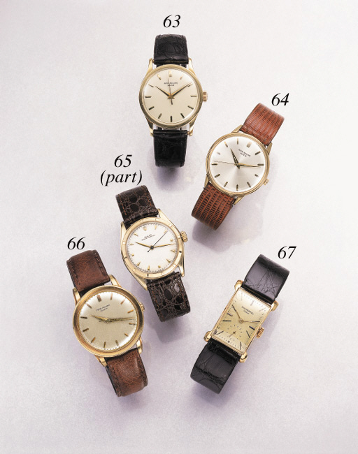 Rolex. A lot of one 10K gold and one stainless steel and gold waterproof wristwatches with sweep centre seconds