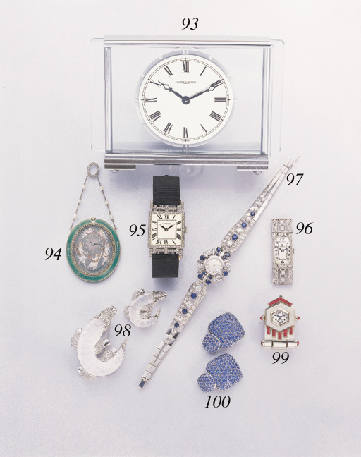 Cartier. A fine platinum and d