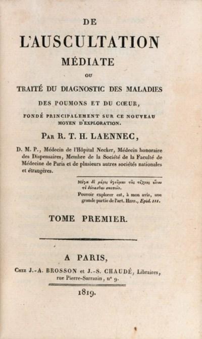 LANNEC, Ren Thophile Hyacinthe