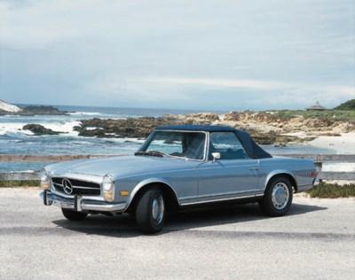 1969 MERCEDES-BENZ 280SL CONVE