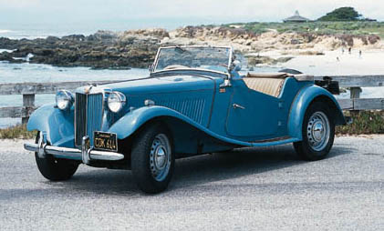 1950 MG TD SPORTS TWO SEATER