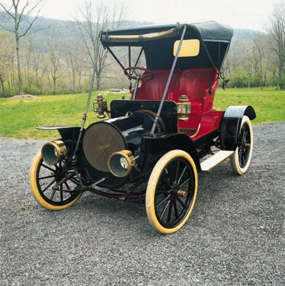1909 FRANKLIN MODEL G RUNABOUT
