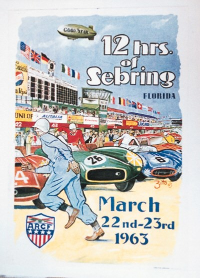 12 Hours of Sebring - 1963 - A