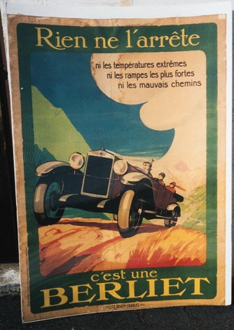 Berliet - A color poster for B