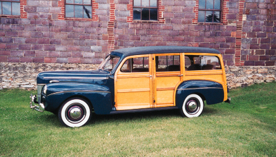 1941 FORD SUPER DELUXE WOODY S