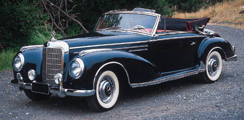 1957 MERCEDES-BENZ 300Sc CABRI