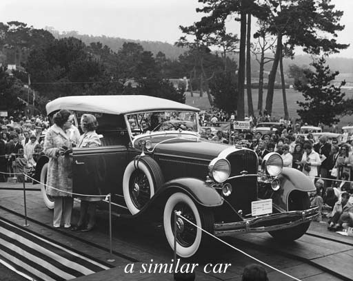 1931 LINCOLN MODEL K SPORT PHA