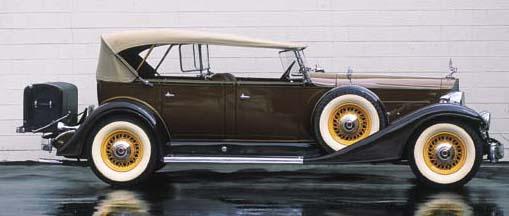 1933 PACKARD TWELVE MODEL 1005