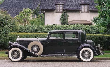 1931 PIERCE-ARROW MODEL 41 CLU