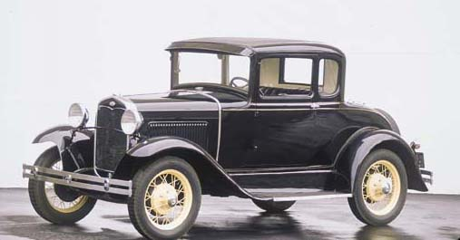 1930 FORD MODEL A COUPE WITH R