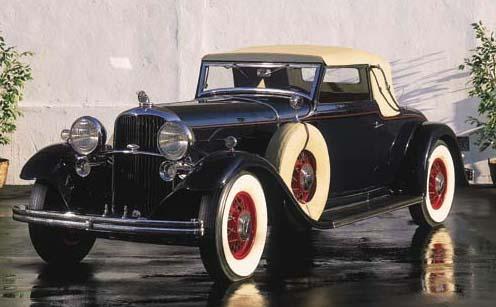 1932 LINCOLN MODEL KB CONVERTI