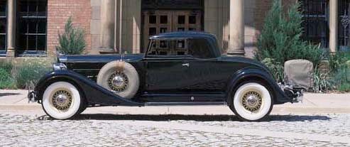 1934 PACKARD SUPER EIGHT MODEL