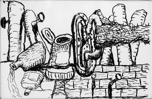 PHILIP GUSTON (B. 1913-1980)