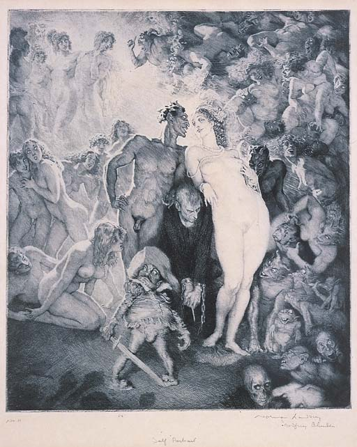 NORMAN ALFRED WILLIAMS LINDSAY (1879-1969)