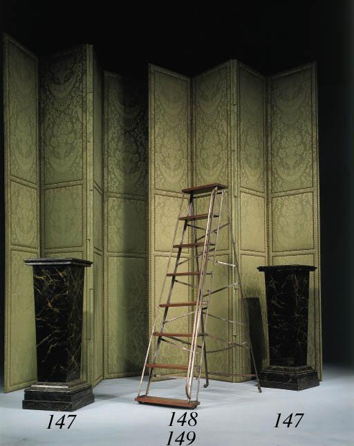 escabeau de bibliotheque d 39 epoque directoire christie 39 s. Black Bedroom Furniture Sets. Home Design Ideas