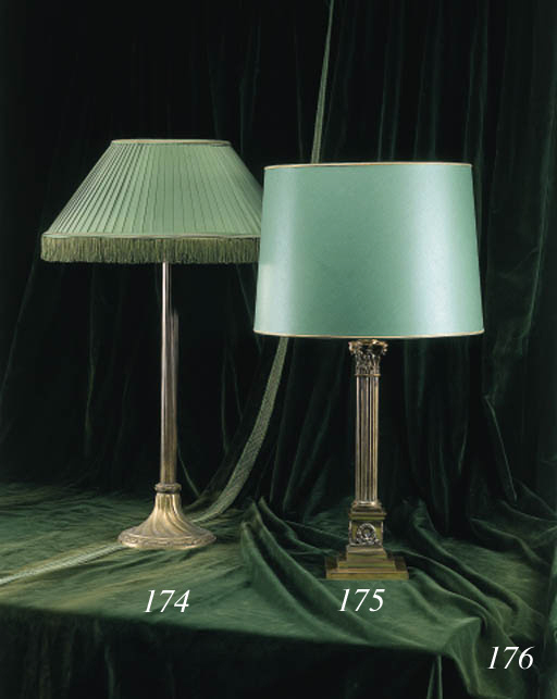 PAIRE DE LAMPES MODERNES