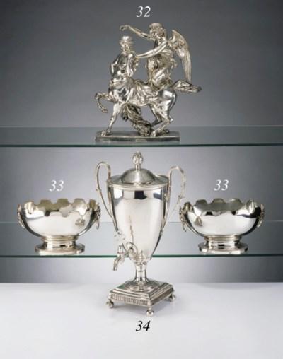Statue -Prix de Course- en arg