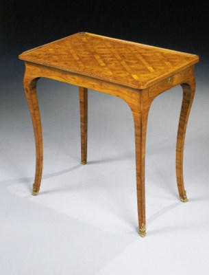 TABLE A ECRIRE D'EPOQUE LOUIS