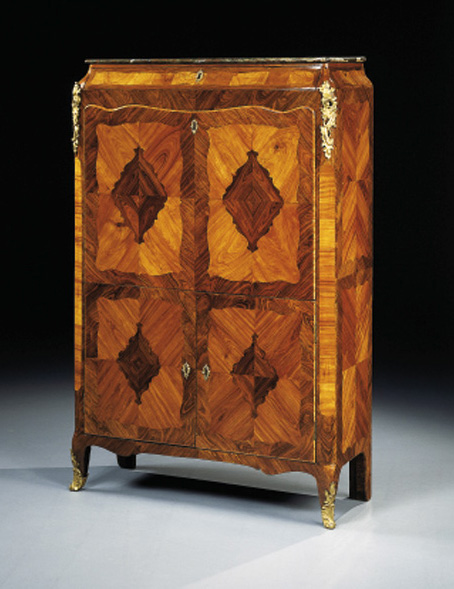 SECRETAIRE D'EPOQUE LOUIS XV