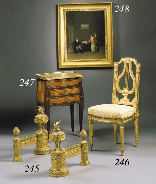 TABLE EN CHIFFONNIERE D'EPOQUE LOUIS XV
