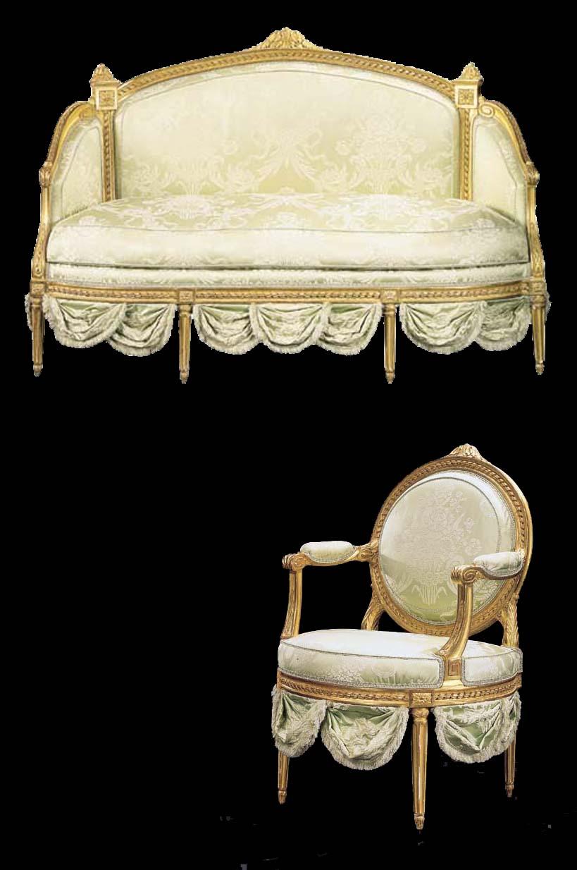 mobilier de salon d 39 epoque louis xvi estampille de nicolas blanchard christie 39 s. Black Bedroom Furniture Sets. Home Design Ideas