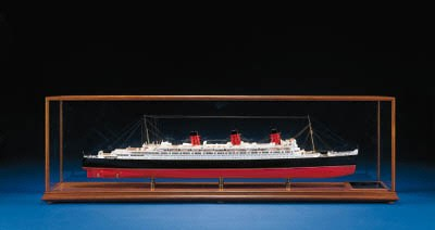 A Model Of The R.M.S. QUEEN MA