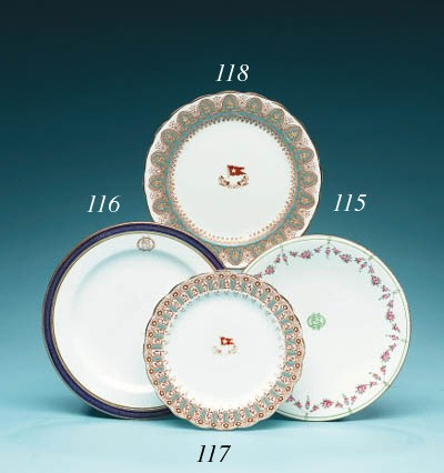 A Dining Plate From R.M.S. Tit