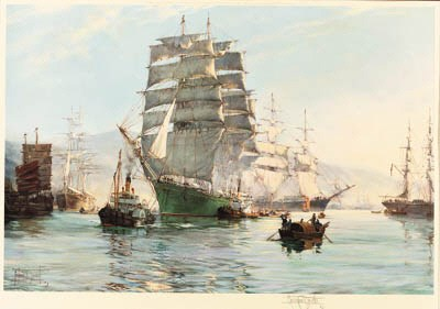 After Montague Dawson (British