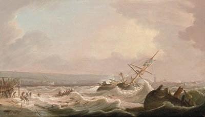 Robert Salmon (American, 1775-