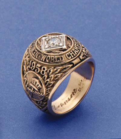 1958 NEW YORK YANKEES CHAMPION