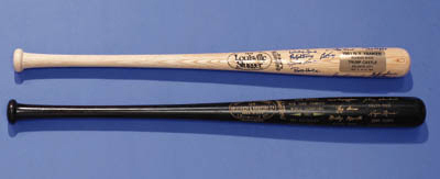 PAIR OF 1961 YANKEE BATS