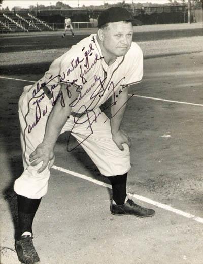 SIGNED PHOTOGRAPH OF JIMMIE FO
