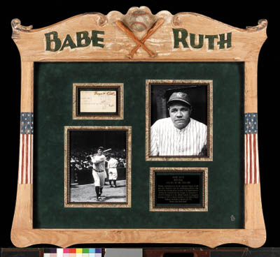 BABE RUTH COLLAGE
