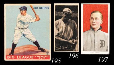 1933 GOUDEY LOU GEHRIG CARD
