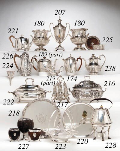 TWO MATCHING GEORGE II SILVER