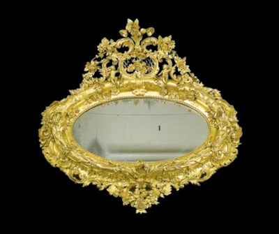A LARGE CONTINENTAL ROCOCO-STY