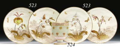 A ROYAL WORCESTER 'JEWELLED' D