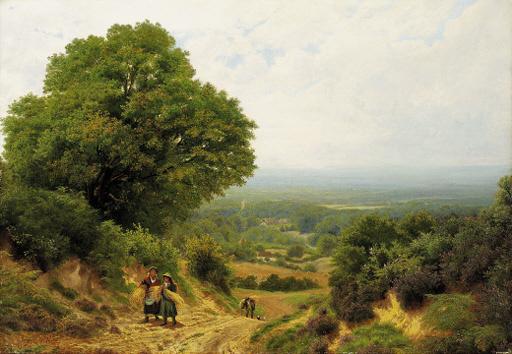 John Clayton Adams (British, 1