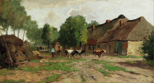 Johan Scherrewitz (Dutch, 1868