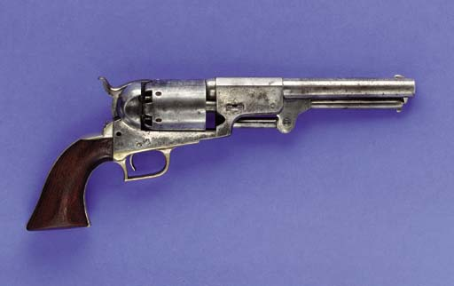 A .44 COLT FIRST MODEL DRAGOON