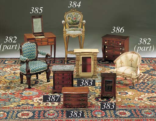 A NEOCLASSIC MAHOGANY AND PARC