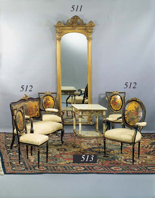 A MATCHED SUITE OF LOUIS XVI S