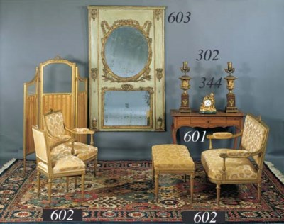A SUITE OF LOUIS XVI STYLE GIL