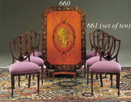 A MATCHED SET OF TEN GEORGE II