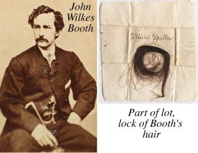 BOOTH, John Wilkes, Actor and