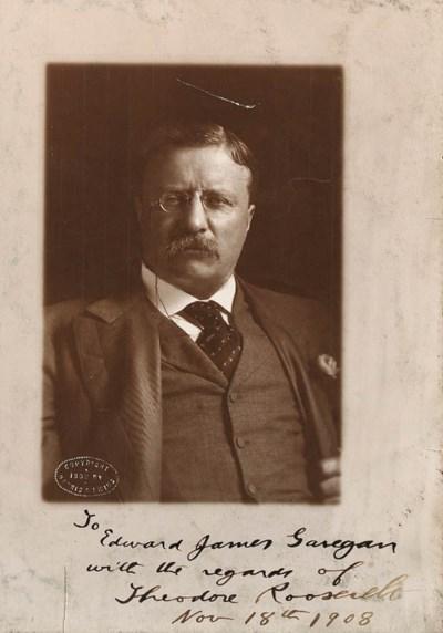 ROOSEVELT, Theodore. Photograp