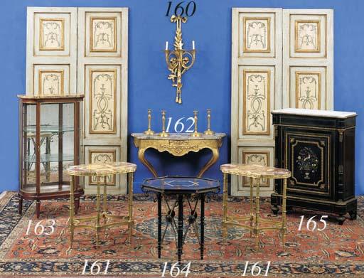 A LOUIS XVI STYLE ORMOLU THREE