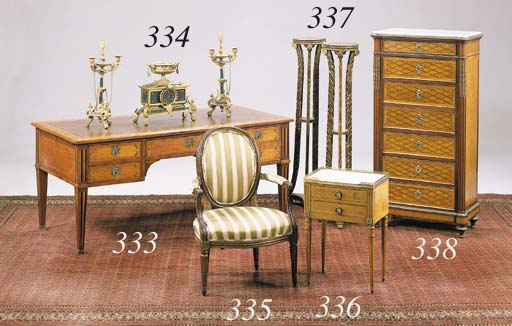 A MATCHED PAIR OF LOUIS XVI ST