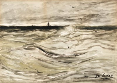 Hendrik William Mesdag (Dutch,