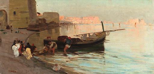 Eduardo Dalbono (Italian, 1843